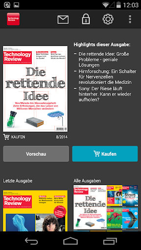 Technology Review – Deutsch