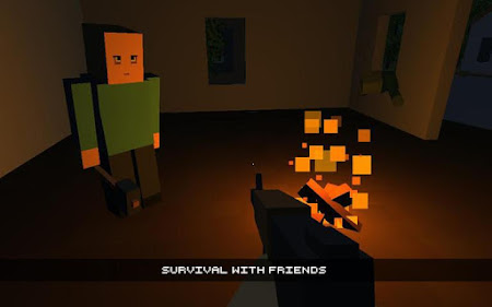 Cube Gun 3D : Zombie Island 1.0 screenshot 44162