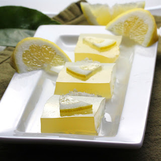 Pot 'O Gold Lemon Limoncello Gelatin Shots