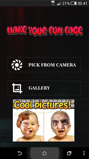 Make your fun face