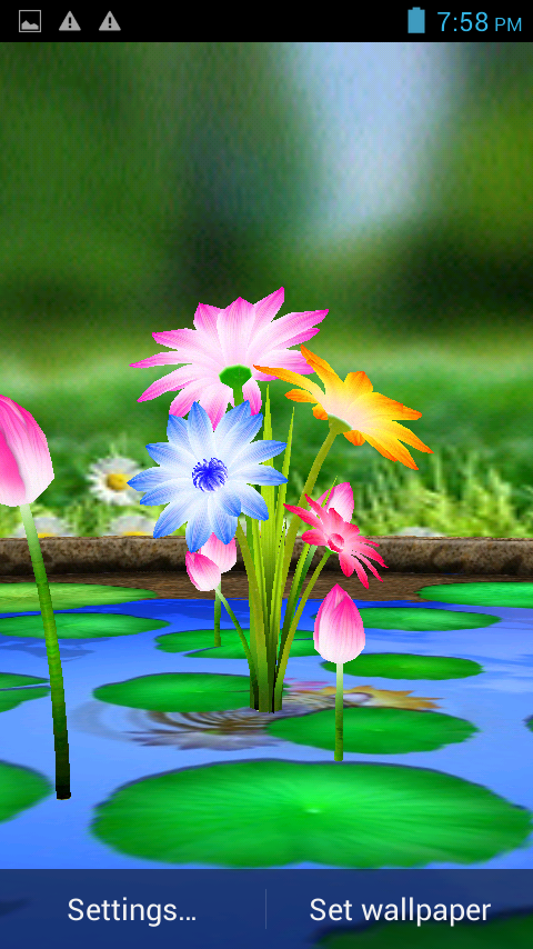 3d flowers touch wallpaper google play store revenue download