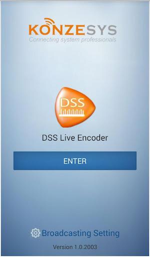 DSS Live Encoder
