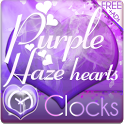 Purple Haze Clock Widgets icon