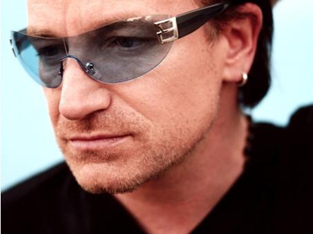 c37974831f Las gafas de Sol de Bono, cantante de U2 | Blickers