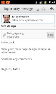 EmailTray Email App- screenshot thumbnail