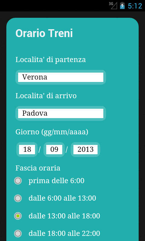 Orari Treni Italia - Gratis - screenshot