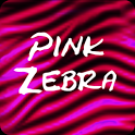 Pink Zebra Keyboard icon