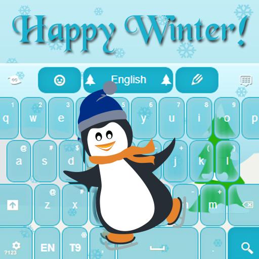 冬天快樂鍵盤 LOGO-APP點子