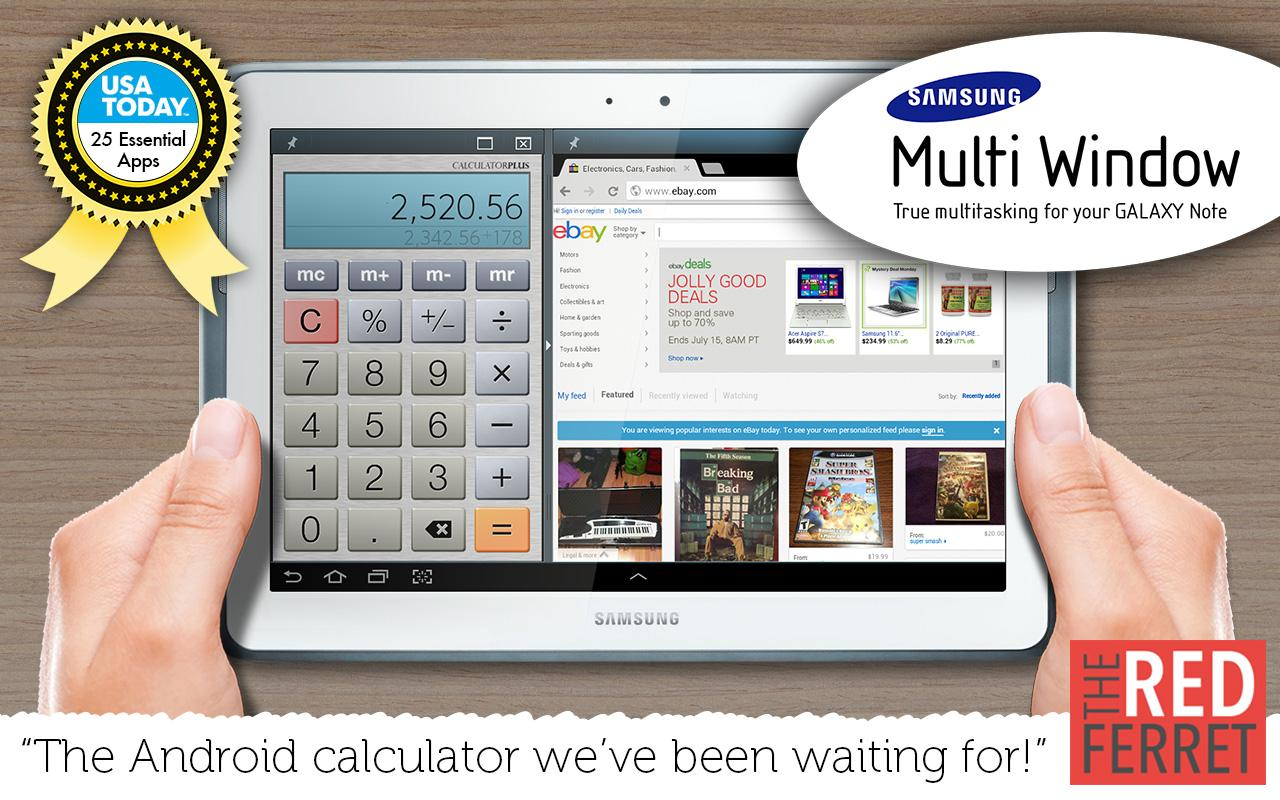 Calculator Plus Free- screenshot