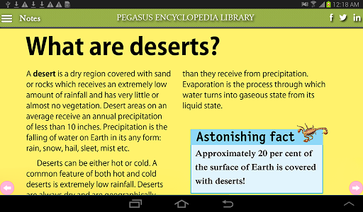 Geography-Deserts