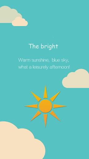 Sunshine Hola Launcher Theme