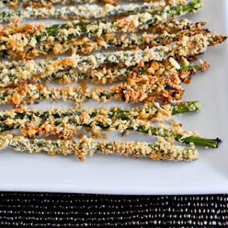Crispy Parmesan Asparagus Sticks.