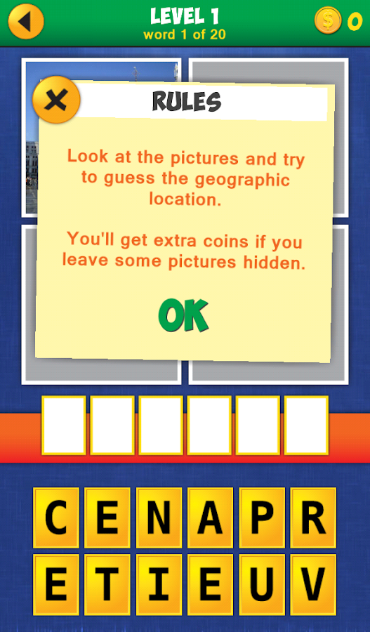 4 Pics 1 Word: Travel!- screenshot