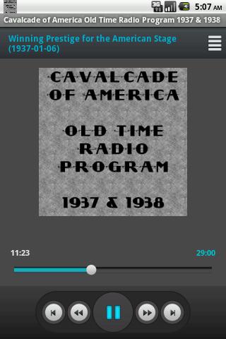 Cavalcade of America OTR V.II