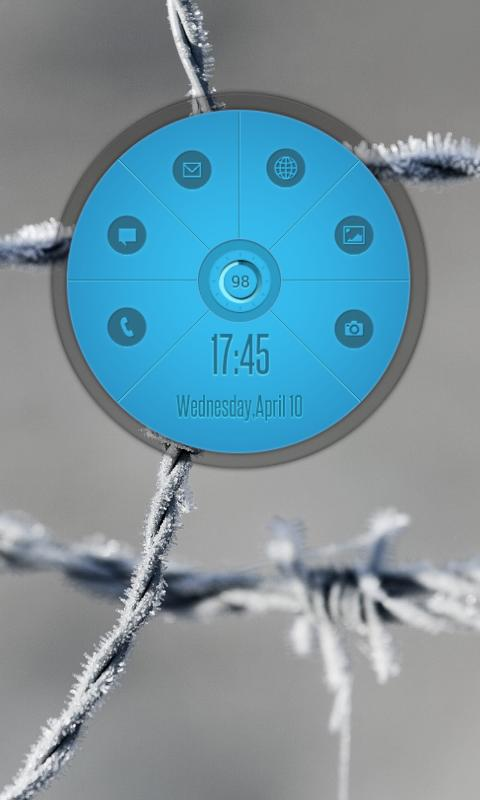 Circle Launcher HD UCCW SKIN - screenshot