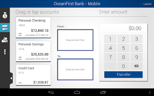 OceanFirst Bank - Mobile - screenshot thumbnail