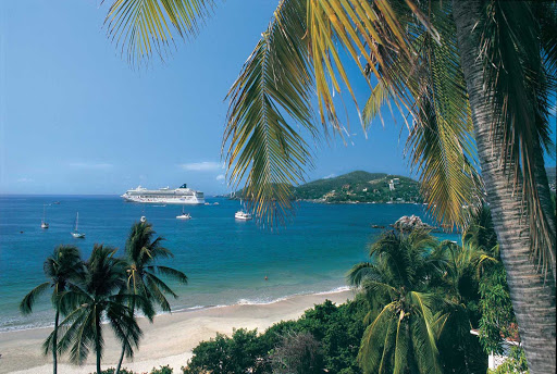 Norwegian-Star-Zihuatanejo - Cruise to Zihuatanejo, one of the most popular tourist spots along the Mexican Riviera, aboard Norwegian Star.