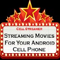 Cell Streamer Streaming Movies logo