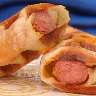 Big Pigs in Waffle Blankets.