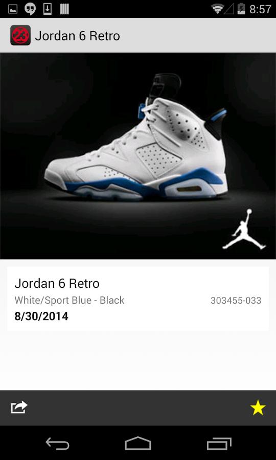 J23 - Jordan Release Dates - screenshot