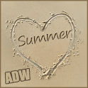 Summer Sand Theme for ADW