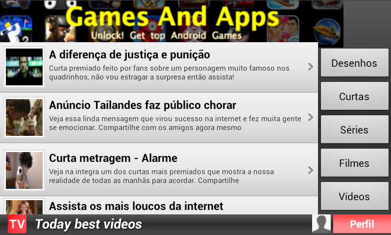tv gratis - screenshot