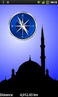 Screenshot of Compass to Mecca