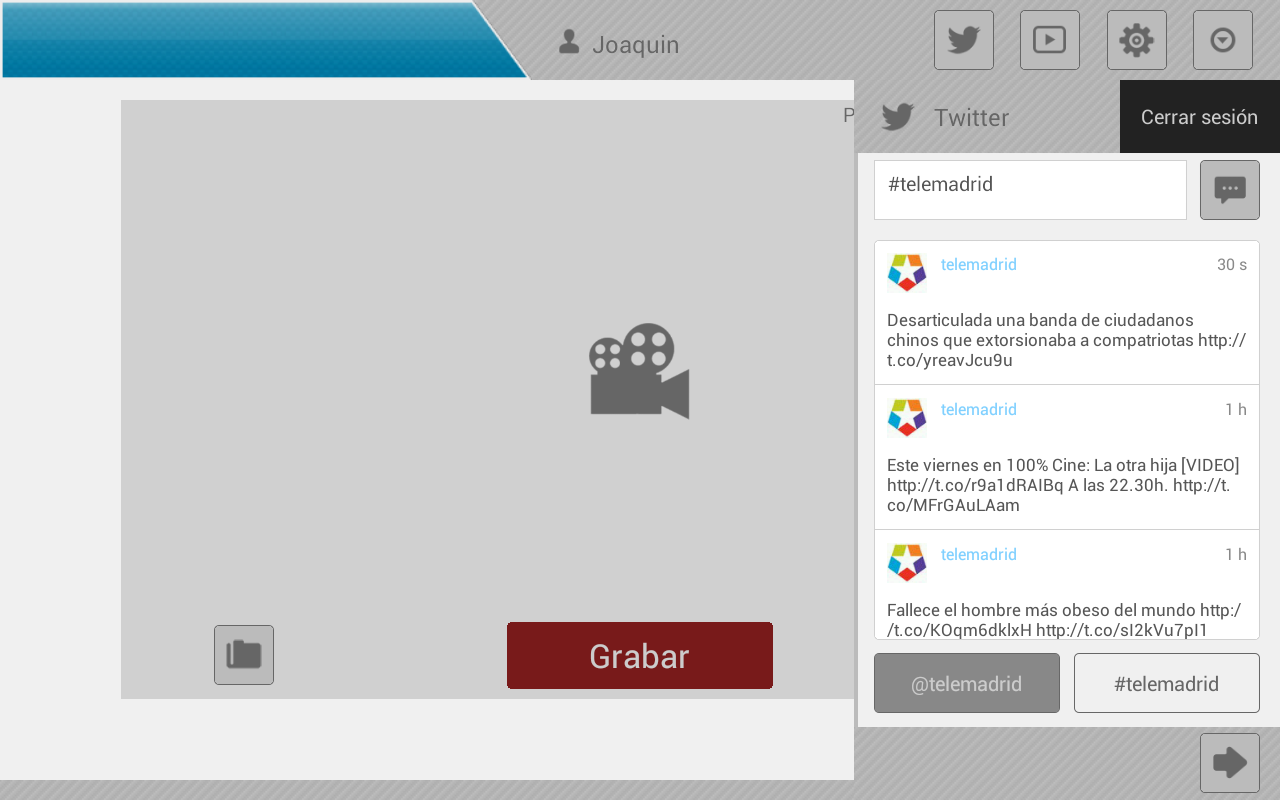 Haztutele- screenshot