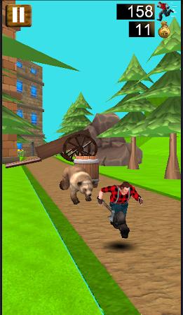 Danger Runner 3D Bear Dash Run 1.5 screenshot 1646798