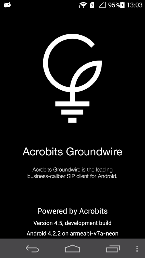 Groundwire- screenshot