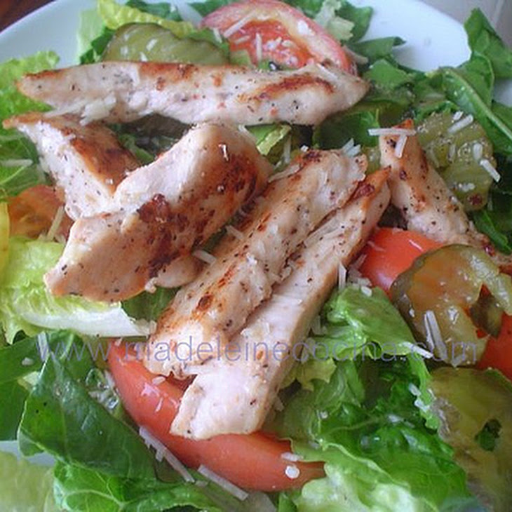 Chicken with Garlic and Arbol Chili