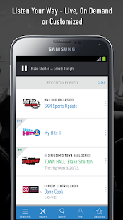 SiriusXM- screenshot thumbnail