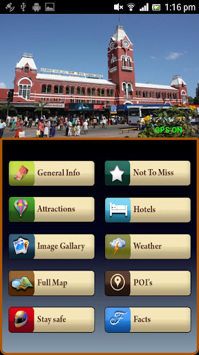 Chennai Offline Map Guide