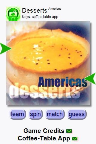 Desserts Americas (Keys) - screenshot