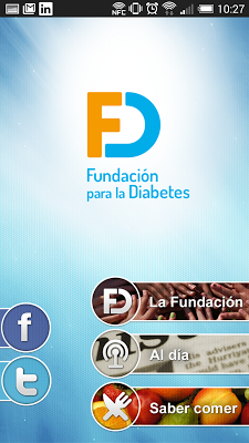 Fundación para la Diabetes - screenshot