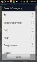 Screenshot of Bible Scripture Scenic Live WP