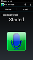 Screenshot of Digital Call Recorder