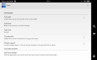 Screenshot of Zenfield File Manager Ad-free