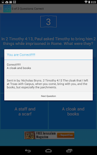 Bible Trivia Game Free- screenshot thumbnail