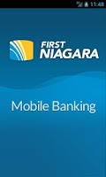 Screenshot of First Niagara Mobile Banking