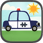 Car Games for Kids: Puzzles icon