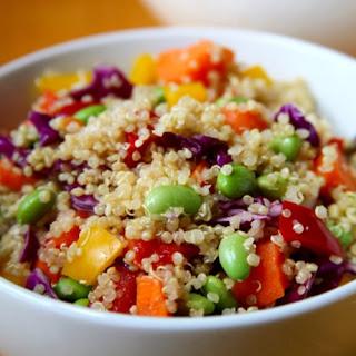 Sesame Ginger Quinoa Salad.