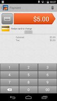 Screenshot of First Data Mobile Pay Solution