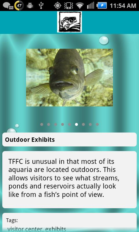 Texas Freshwater Fisheries Ctr - screenshot