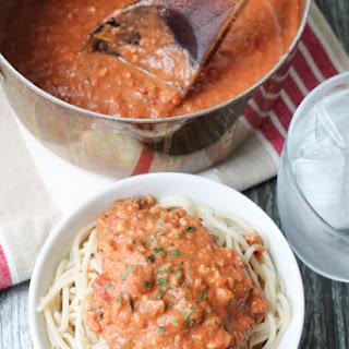 Walnut 'Bolognese' Spaghetti Sauce – Vegan & Gluten Free