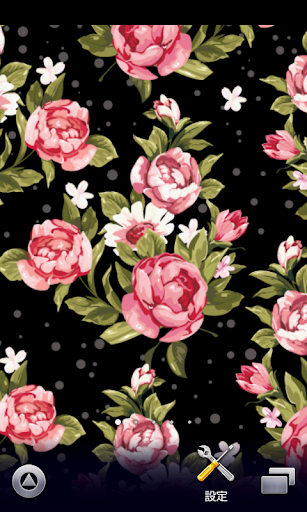 かわいい春の花柄壁紙【スマホ待受壁紙】ver157