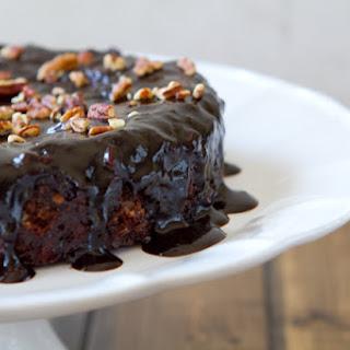 Ooey Gooey Chocolate Cake.