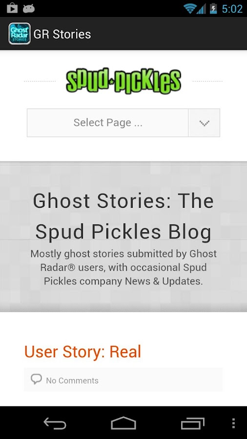 Ghost Radar®: STORIES - screenshot