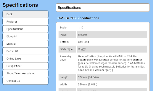 RC10B4.2RS Essentials- screenshot thumbnail