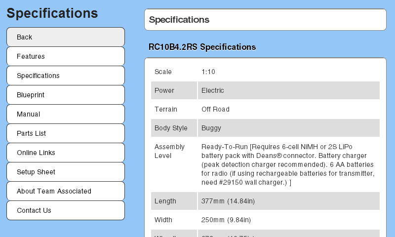 RC10B4.2RS Essentials - screenshot